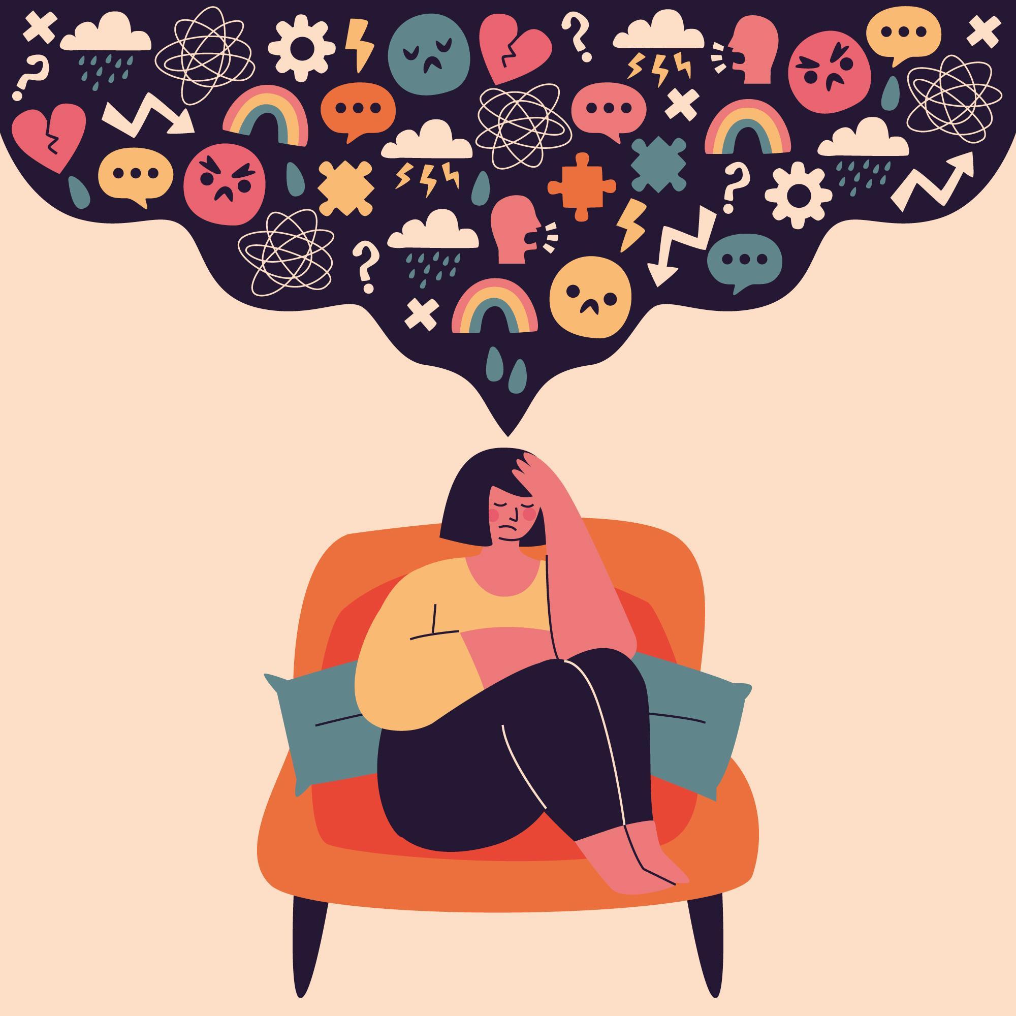 5 maneras de calmar una mente estresada
